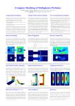Multiphysics poster 2010