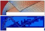 Forward-facing step Euler equations benchmark + mesh
